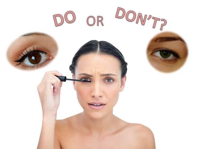 5 често срещани грешки в очния грим