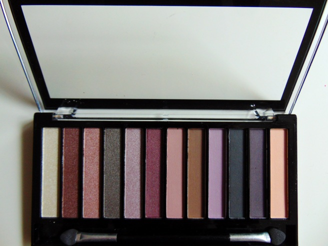 Makeup Revolution Palette Romantic Smoked